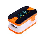 Digital Fingertip Pulse Oximeter OLED Display Heart Rate Monitor Blue  and Orange
