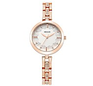 Women's Fashion Watch Bracelet Watch Quartz Japanese Quartz Alloy Band Casual Silver Rose Gold Brand