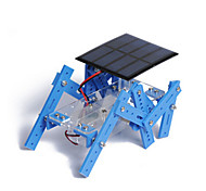 Toys For Boys Discovery Toys Solar Powered Toys Robot Metal Plastic Blue