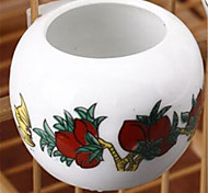 Bird Feeding & Watering Supplies Ceramic White