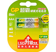 GP GP85AAAHC-L2 AAA Nickel Metal Battery 1.2V 850mAh 2 Pack