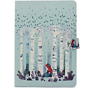 Per Custodie cover Con supporto Fantasia/disegno Integrale Custodia Albero Resistente Similpelle per Apple iPad Air 2 iPad Air