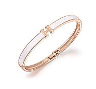 18k золотой кристалл ч письмо браслет ювелирные изделия для женщин