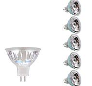 3W GU5.3(MR16) Точечное LED освещение MR16 1 COB 230/240 lm Тёплый белый Холодный белый DC 12 AC 12 V 6 шт.