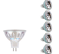 3W GU5.3(MR16) Focos LED MR16 1 COB 230/240 lm Blanco Cálido Blanco Fresco DC 12 AC 12 V 6 piezas