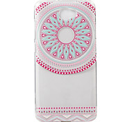 For HUAWEI 5X Nova P8LITE Y5II Maimang5 Case Cover Pink Circle Painted Pattern TPU Material Phone Case
