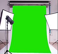 3x5ft зеленый тонкий винил фотографии фон студия проп фото фон