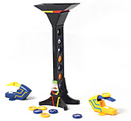 Stack Tower Battle Shooting Game Desktop Games Toys Leisure Hobby Toys Novelty Tower ABS Black