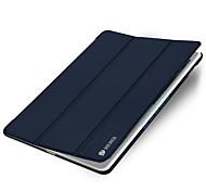 For Apple iPad Mini 4 Luxury Auto Sleep Wake Case Full Body Case Solid Color Hard PU Leather