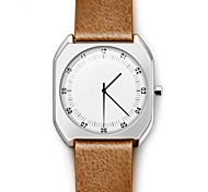 Vintage Men's Watch New Luxury Brand Ultra Thin Full Genuine Leather Casual Watches Water Casual Fashion Ladies Watch Quartz Watch