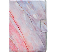 For Apple iPad MINI 4 Case Cover Marble Pattern Three Fold PU Material Tablet PC Shell Phone Case
