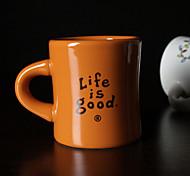 Стаканы, 320 Керамика Телесный Сок Кофейные чашки