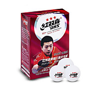 6 3 Stars 4 Ping Pang/Table Tennis Ball White Indoor Performance Practise Leisure Sports