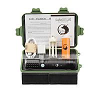 U'King Светодиодные фонари Наборы фонариков LED 2000 Люмен 3 Режим Cree XM-L T6 Да Фокусировка Перезаряжаемый для