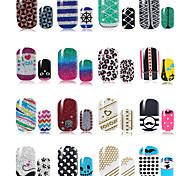 10pcs Nail Art Sticker  3D Nail Stickers Makeup Cosmetic Nail Art Design