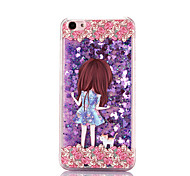 For IPhone 7 Pattern Case Back Cover Case  Quicksand Pretty Girl Pattern for IPhone 6s 6 Plus 5s 5