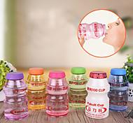 Novelty Yakult Cup Drinkware, 500 ml Leak-proof BPA Free Plastic Juice Water Bottle