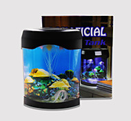 BAOJIE Aquarium Jellyfish Lamp  Neon Lights USB Mini Aquarium