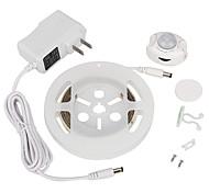 ywxlight® 2835smd 3w 36LED теплый белый холодный белый нас заткнуть движение активированного кровати свет 1.2m датчик таймера гибкой