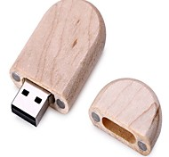 madeira estilo 64gb usb memória flash disk caixa de madeira pau