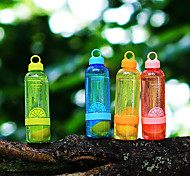 Transparent Drinkware, 800 ml Leak-proof BPA Free Plastic Juice Water Bottle