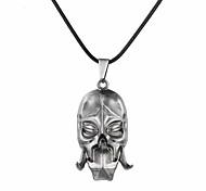 Муж. Женский Ожерелья с подвесками Бижутерия В форме черепа Сплав Уникальный дизайн С логотипом В виде подвески Бижутерия Назначение