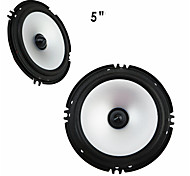 1 Pair Car Speakers 60w Full Car Speaker 5 Inch Loudspeakers For Automobile Car Hifi Speakers For Auto Loudspeaker Subwoofer