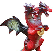 Medium Fiery Dragon Model Pure Rubber Dinosaur Toys For Boys Smart Self Balancing Kids' Electronics