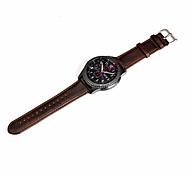 para Samsung Gear s3 classic / fronteira banda cinta genuína relógio de couro