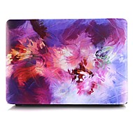 Oil Painting Purple Pattern MacBook Case For MacBook Air11/13 Pro13/15 Pro with Retina13/15 MacBook12