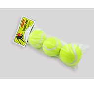 Dog Toy Pet Toys Ball Tennis Ball Rubber 3pcs