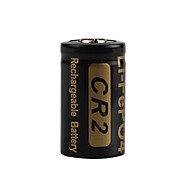 2pcs Soshine 3V 400mAh High Capacity CR2 LiFePO4 Rechargeable Battery for LED Flashlights Headlamps