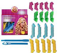 18 Pcs Set Nine Big Nine Little Volume Hair Tools Article Hair Volume Bang Magic Diy Curl Tool Changed Curl Curl Artifact