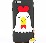 For DIY Case Back Cover Case Chick Pattern Soft TPU for Apple iPhone 7 Plus iPhone 7 iPhone 6s Plus iPhone 6 Plus iPhone 6s iPhone 6
