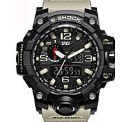 XSVO Fashion Watch Men Sport  Waterproof Analog Quartz-Watch Dual Display LED Digital Electronic Watches relogio masculino