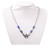 Cosplay Accessories Inspired by Black Butler Cosplay Anime Cosplay Accessories Necklace Blue Alloy