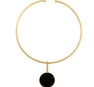 Жен. Ожерелья с подвесками Круглый По заказу покупателя Бижутерия Назначение Свадьба