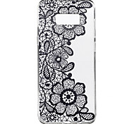 For Samsung Galaxy S8 Plus S8 Case Cover Three Flowers Pattern High Penetration TPU Material Phone Case S7 edge S7 S6 edge plus S6 edge S6 S4 Mini S4
