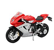 Motorräder Spielzeuge Auto Spielzeug 1:18 ABS Plastik Regenbogen