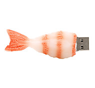 camarones de 128 GB de disco unidad flash USB 2.0 de goma