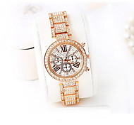 Women's Fashion Watch Digital Watch Water Resistant / Water Proof Digital Japanese Quartz Alloy Band Luxury Cool Casual Rose Gold
