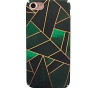 Назначение iPhone X iPhone 8 Чехлы панели С узором Задняя крышка Кейс для Геометрический рисунок Твердый PC для Apple iPhone X iPhone 8