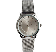 Women's Fashion Watch / Quartz Stainless Steel Band Casual Black