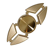 EDC Brass Hand Spinner Focus Fidget Toy ADHD Anxiety Autism Finger Spinner for Adults/Kids Crab Style Spinning Time 4-5 Mins