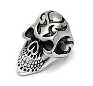 Personality Master skull rock fashion accessories and retro Skull Ring domineering ring SA871 316L stainless steel