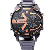 Men's Sport Watch Military Watch Dress Watch Fashion Wrist Watch Unique Creative Watch Casual Watch Quartz Large Dail Strap Watch