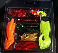 1 pcs leurres de pêche Leurre souple g/Once mm pouce Pêche générale