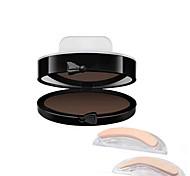 Продукты для бровей порошок Сухие Водонепроницаемый Натуральный черный увядает Серый с градиентом Бежевый Разноцветный Телесный Глаза