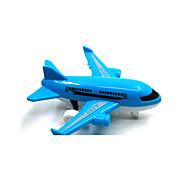 Avión y helicóptero Vehículos de tracción trasera Juguetes de coches 1:12 Plástico Blanco Azul Modelismo y Construcción