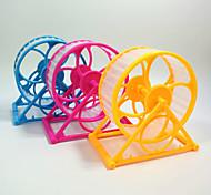 Шиншиллы Колесо для упражнений Переносной Косплей Многофункциональный Пластик Желтый Зеленый Синий Розовый